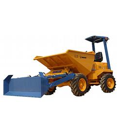 Dumper hidráulico articulado autocargable de 2.500 Kg. 4x4