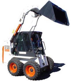 Minicargadora de ruedas con alto caudal